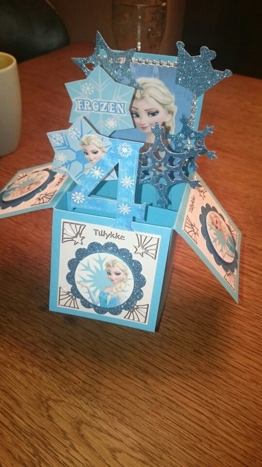 Frozen Card in a Box by Karen Nielsen
