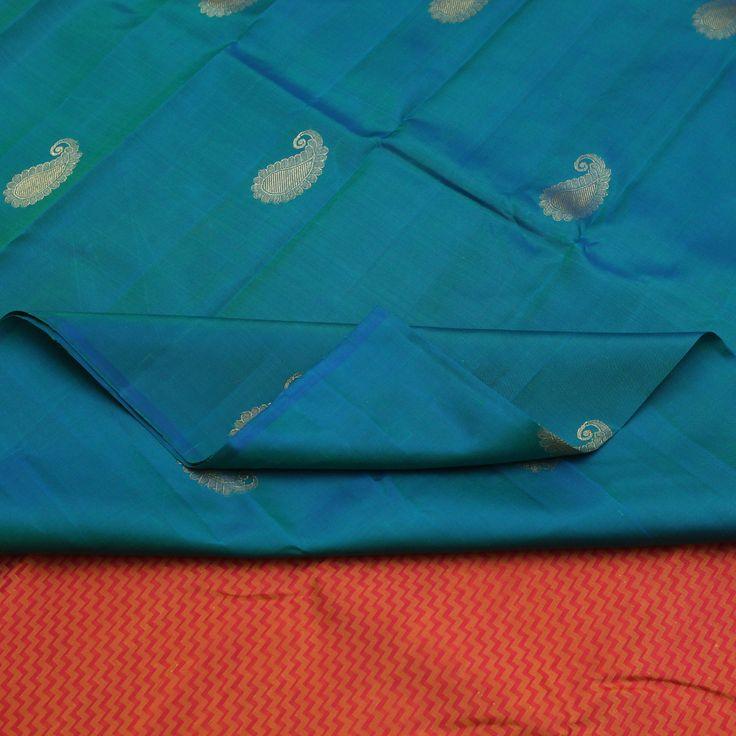 Sarangi Handwoven Kanjivaram Silk Sari - 350128178 from Sarangi * Feel Beautiful