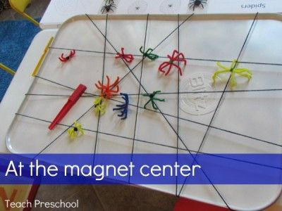 teaching magnets to preschoolers an invitation to play all through out the learning 450