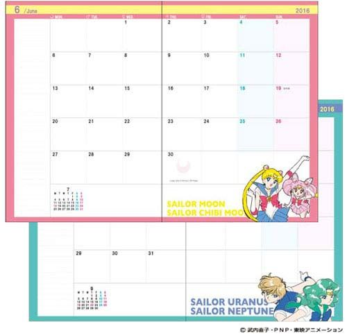 ... and Planners Shopping Guide | Sailor Moon, Moon Calendar and Diaries