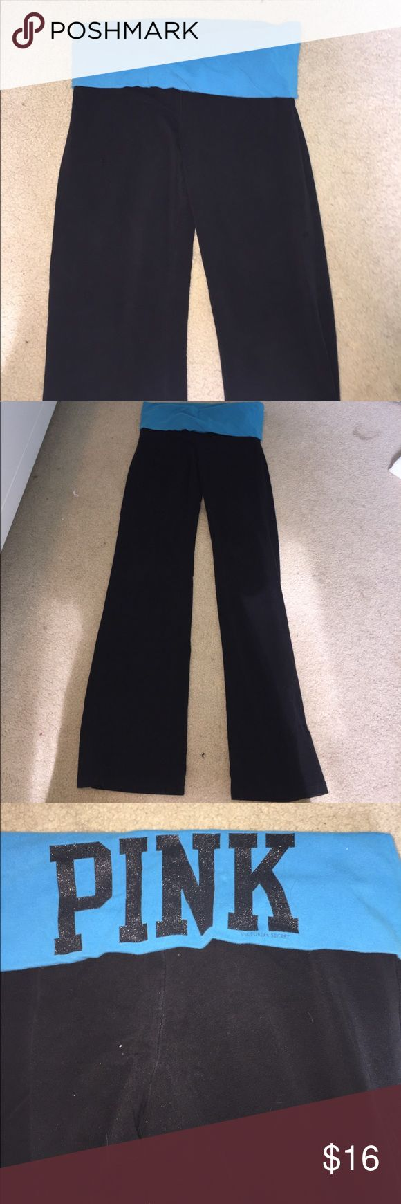 Victoria secret pink yoga pants Victoria secret pink yoga pants. Size small lots of wear left to them. Make an offer need to sell :) PINK Victoria's Secret Pants
