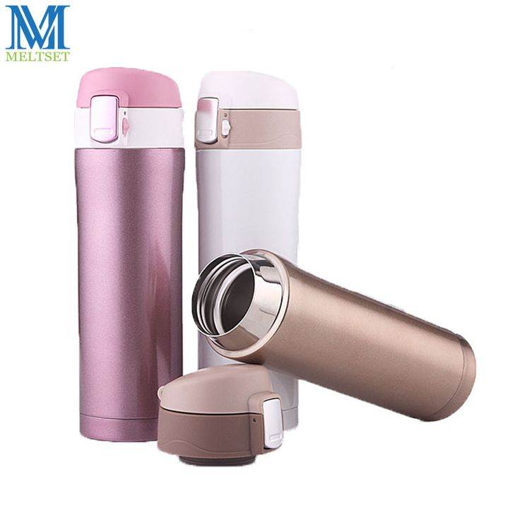 350ML Stainless Steel Vacuum Flask Car Thermos Mug Thermal Cup Fashion Outdoor Travel Bottle Thermal Kettle