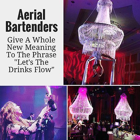72 best Aerial Bartenders Chandelier Aerial Bartenders-events ...