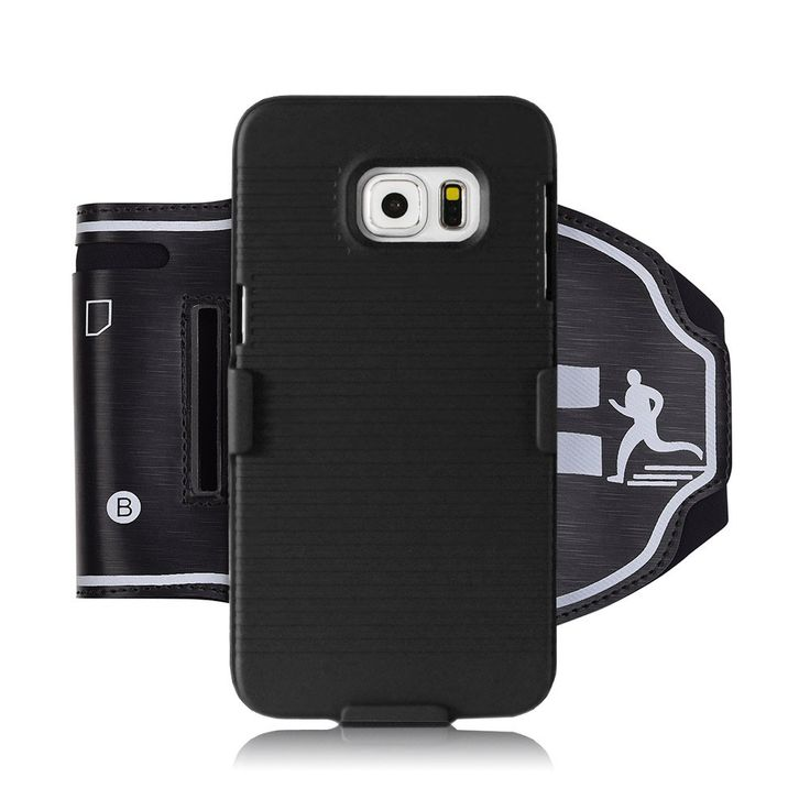 Galaxy S6 Armband, WCS Sport Running Armband & Phone Case for Samsung Galaxy S6, Perfect Fit Premium Flexible Case with Key and Card Slot Holder. 2 in 1 Armband & Phone Case Set: The phone case has precise design and cut so it fits your Galaxy S6 perfectly. Besides, the armband fit the phone case perfectly. It is useful during running or climbing. Professional Sport Armband: adjustable strap length, keep the phone stable during running, riding a bike or climbing. The armband has key and…