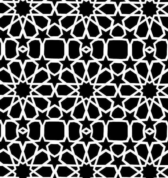 les 25 meilleures id es concernant pochoir marocain sur. Black Bedroom Furniture Sets. Home Design Ideas