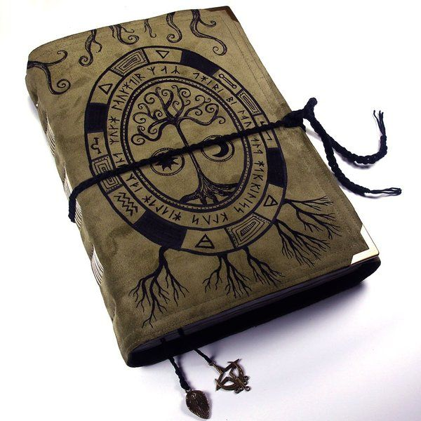Nordic Rune Book Of Shadows. Such A Neat Looking Book