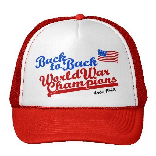 1f486579b65 BACK TO BACK : WORLD WAR CHAMPIONS HAT | America Back To Back World ...