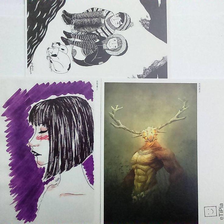 Más postales de @etipia  #etipia #illustration #draw