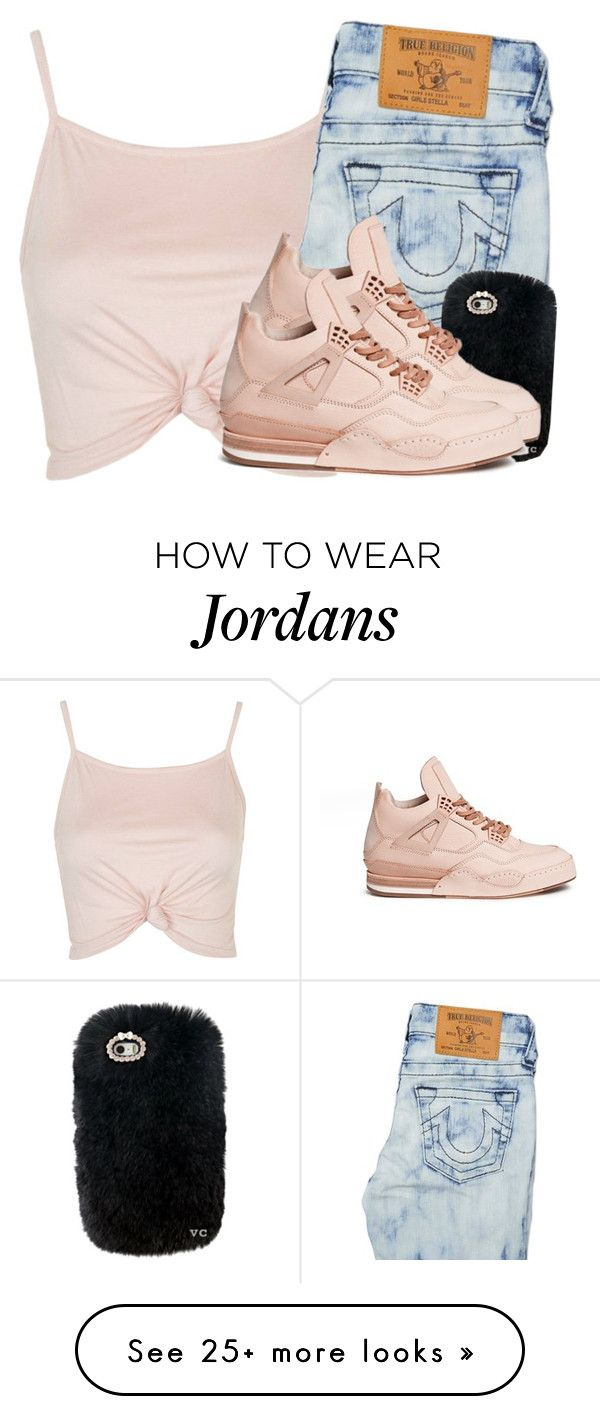 """I thought these shoes were Jordans..."" by princessjay003 on Polyvore featuring Topshop, True Religion and Hender Scheme"