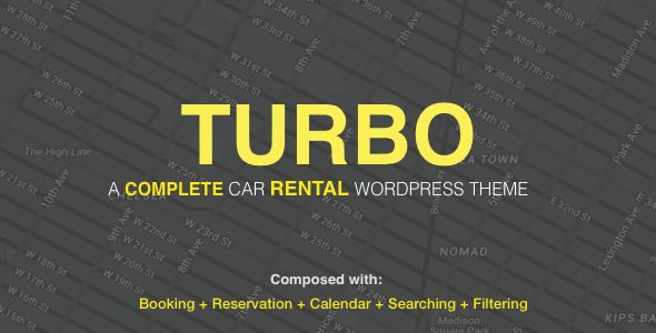 Turbo  is an user-friendly car booking WordPress theme alternatively, car rental WordPress theme crafted with , WooCommerce booking plugin, visual composer, and multilingual.This  theme allows you to book or rent your date-based or time-based car booking. It creates a new product type to   #auto rent #booking #booking calendar #car booking #car rental #hotel booking #property booking #rent #rent a car #rent a taxi #rental #reservation #taxi service #woocommerce booking #wordpress booking