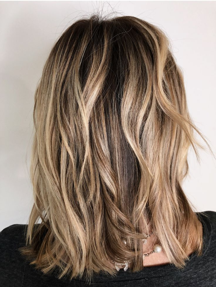 Balayage on gold blonde hair Gold blonde, Gold blonde