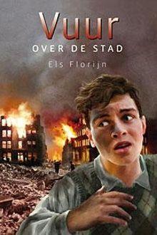 Eigenwijsprijs 2014. Vuur over de stad van Els Florijn. Ralf is een verlegen jongen die snel bang is. Als op 14 mei 1940 de stad wordt gebombardeerd, moeten Ralf en zijn ouders vluchten voor hun leven. Maar dan besluit Ralf om terug te gaan. Vanaf ca. 9 jaar.