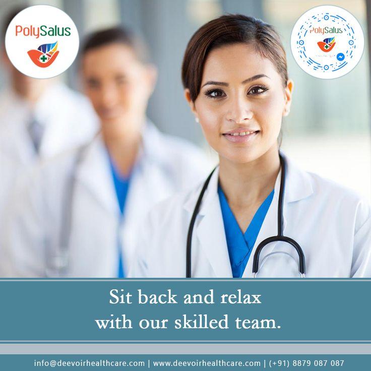 #Let us #Lead your Healthcare Services. #Polysalus #dEEVOiR