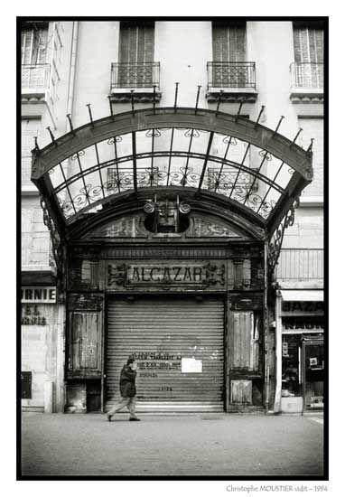 Alcazar - Marquise (architecture) — Marseille