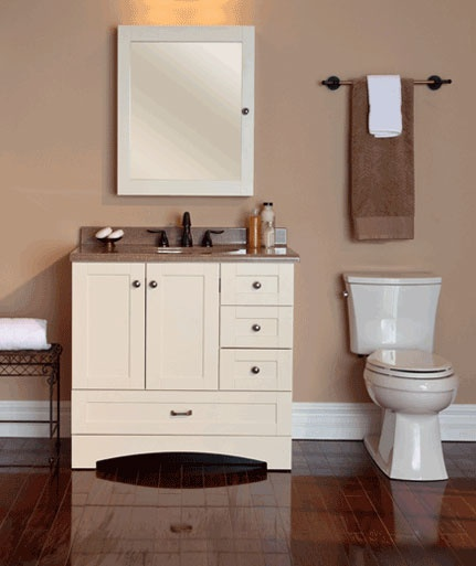 St  Paul Manchester 36 in  Vanity Cabinet Only in Vanilla   The Home Depot    not totally sure about style  but I like the size and function. 10 Best images about Bath Vanities by St  Paul on Pinterest   36