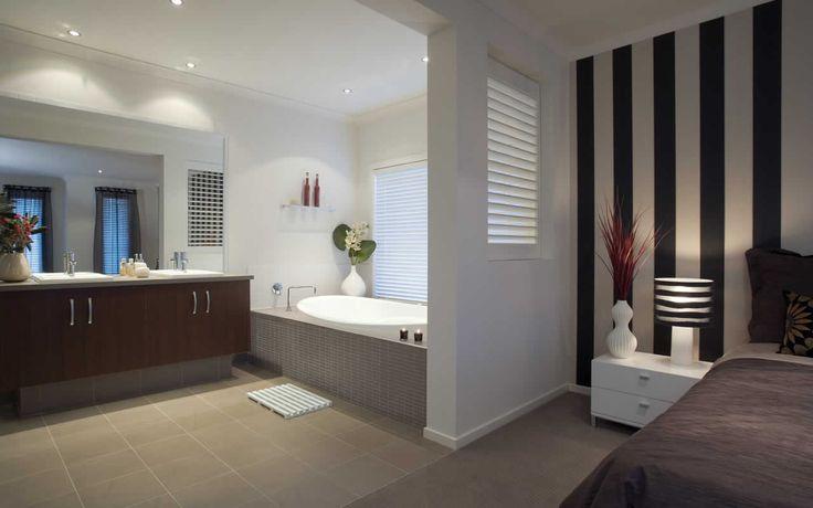 Tiled bath surround