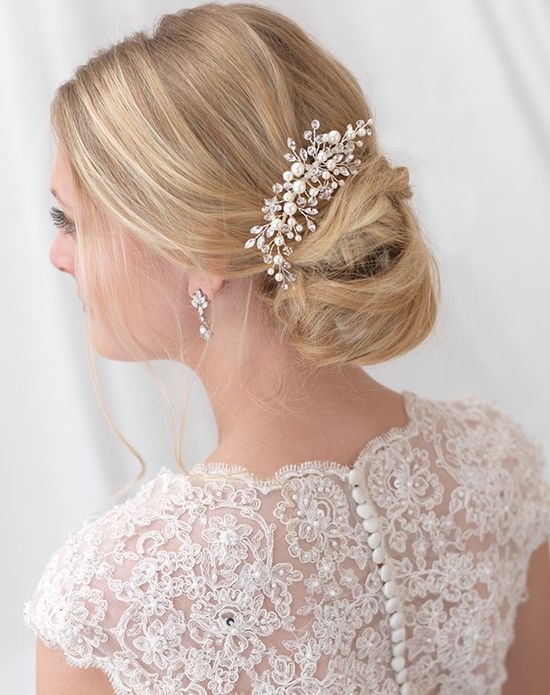 536 best bridal accessories images on pinterest floral cluster wedding hair comb usa bride tc 2293 http junglespirit Choice Image