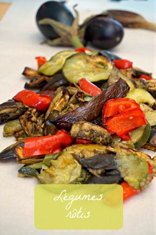 Une recette facile, rapide à préparer, délicieuse de légumes rôtis , customisable à l'infini (courgettes, poivrons...). A tester d'urgence!