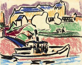 Art History News: Ernst Ludwig Kirchner at Auction