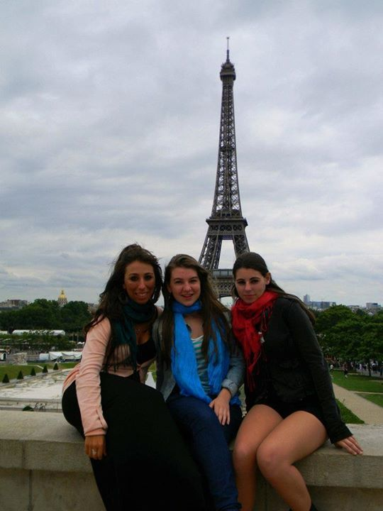 #paris #monamour #eiffel #friends #triocalavera #2012