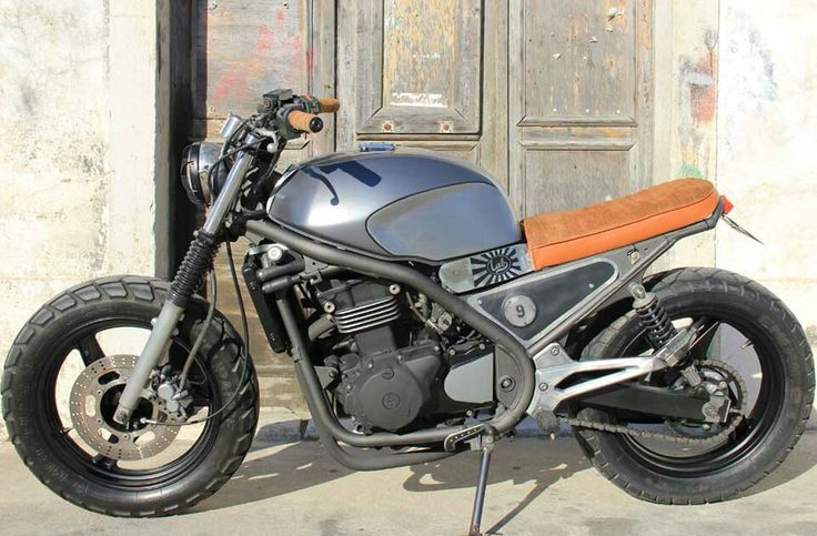 Kawasaki Er 5 Scrambler Idea Di Immagine Del Motociclo