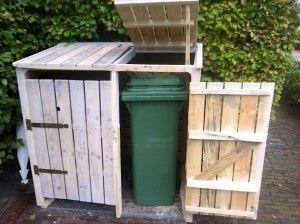 45 best images about dog proof trash cans on pinterest - Construire un abri poubelle ...