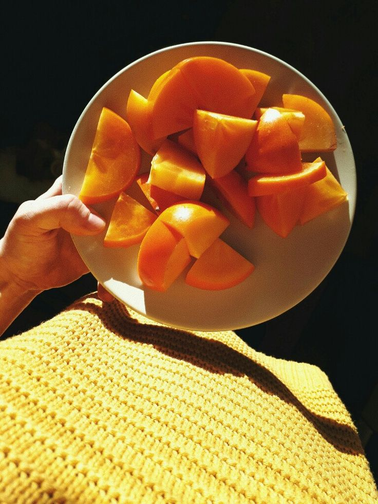 It's persimmon season