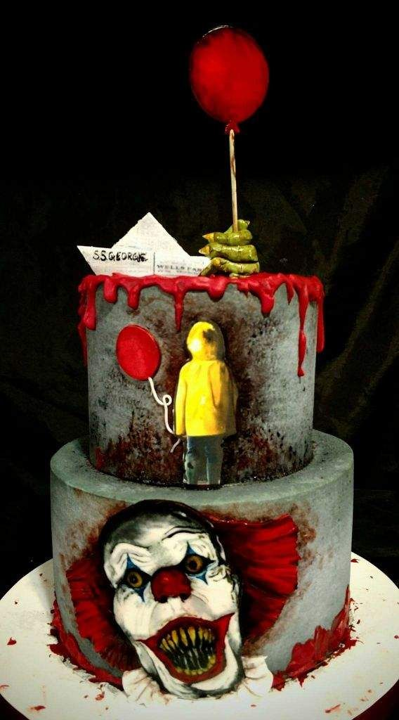 Image Result For Pennywise Cake In 2019 Halloween