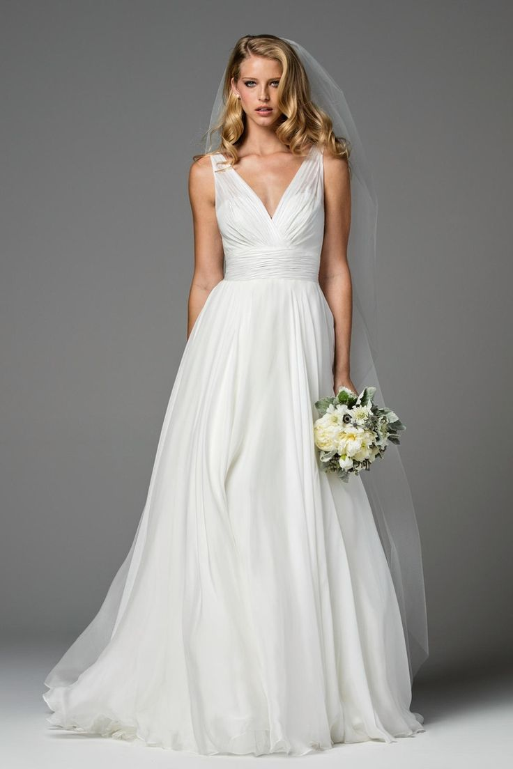 3586 best Sleeveless Wedding Gown Inspiration images on Pinterest ...