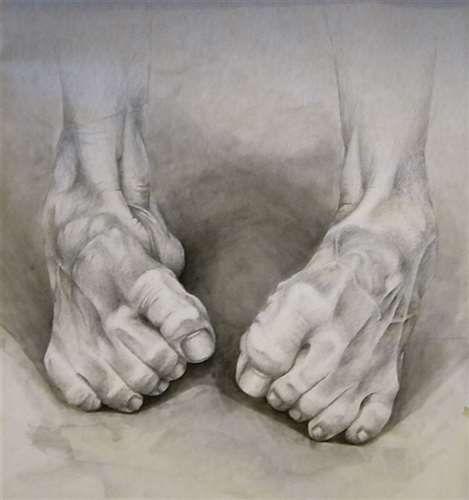 Anastasiya Shabunevich (Centennial, CO, USA) - Feet, 2015 Drawings