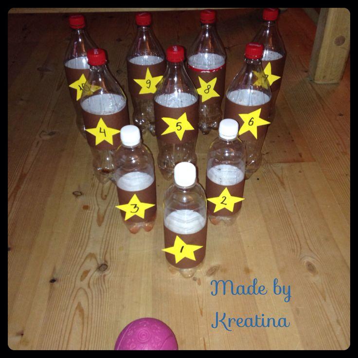 Bottle-bowling - Flaske-bowling