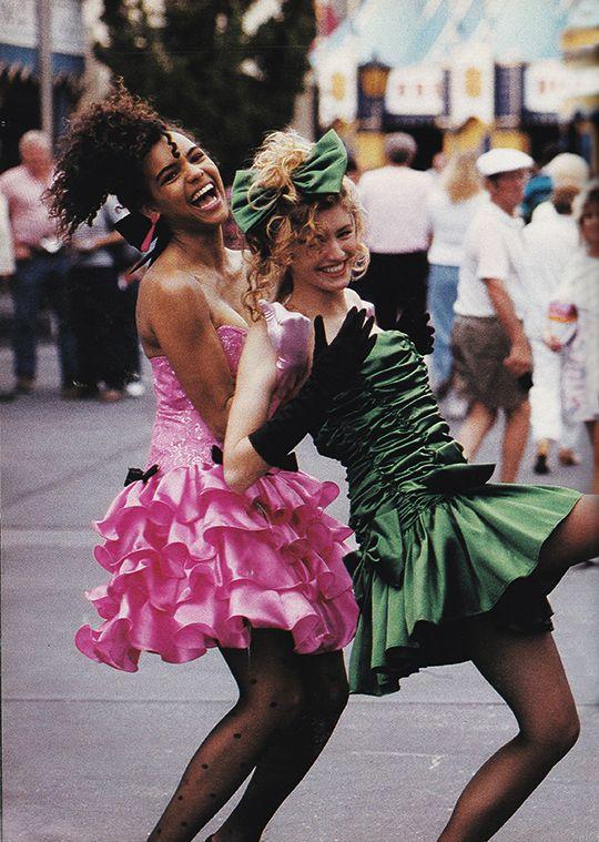 Prom dress 80s invitations