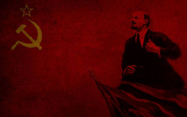 Lenin By Https Www Deviantart Com Just Johnny On Deviantart Vladimir Lenin Wallpaper Vladimir Lenin Communist Wallpaper