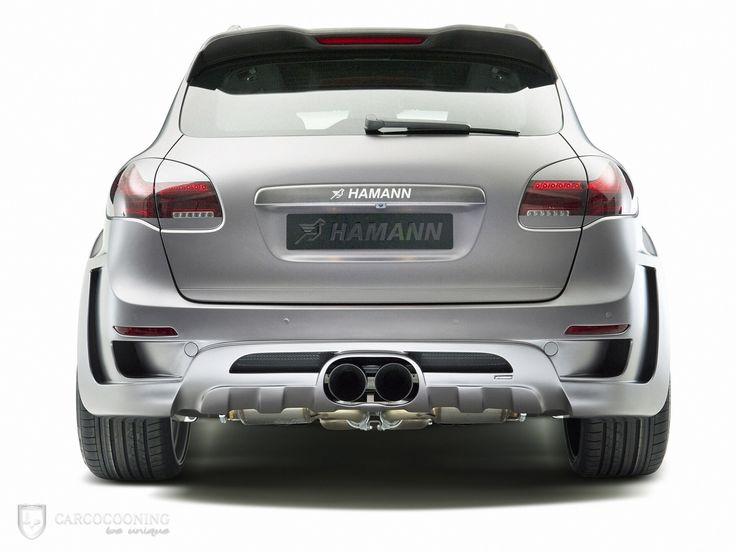 Folierung eines Porsche Cayenne Hamann