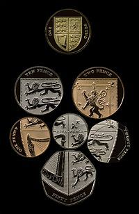 Coins of the pound sterling - Wikipedia, the free encyclopedia