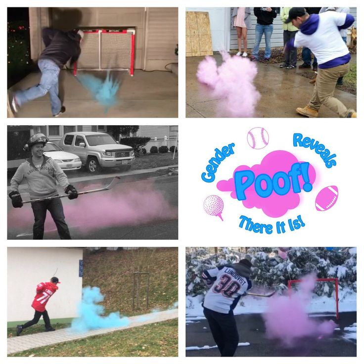 What is included: One Pink Hockey Puck and One Blue Hockey Puck. Each ball is hand made at our house specific for your order. We fill our balls to the brim with powder to ensure the brightest most colorful cloud to reveal your boy or girl. The acrylic shell is sturdy but easily broken when stru
