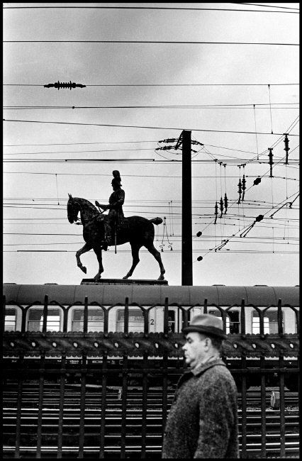 Elliott Erwitt, Cologne, Germany 1967. © Elliott Erwitt/Magnum Photos -repinned by LA photographer http://LinneaLenkus.com  #portraiture