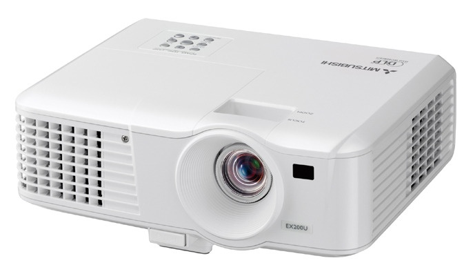 Mitsubishi ES200U Projector........ www.saatvikcommunication.com