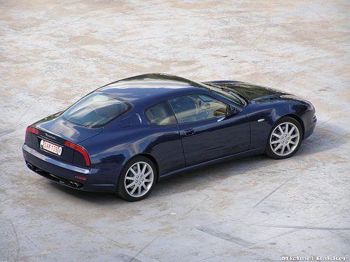 1998-2002 MASERATI 3200 GT - exterior styling by ItalDesign / Giorgetto Giugiarro