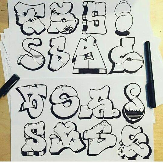 Graffiti Letter S II