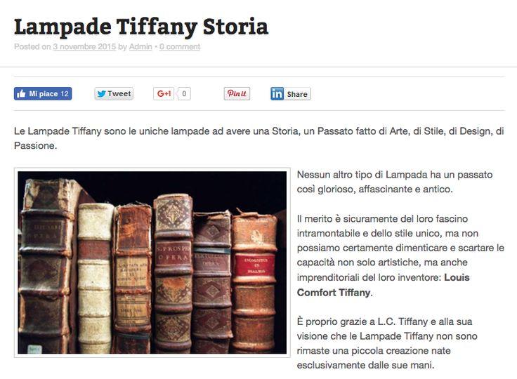 Oltre 1000 idee su Lampade Tiffany su Pinterest  Lampade antiche e Lampada a fiore
