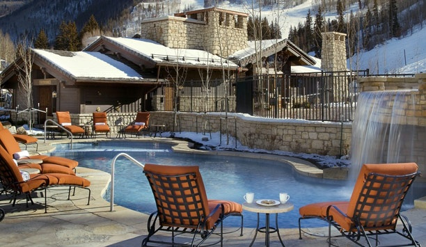 Lodge at Vail, A RockResort: The Lodge has two heated outdoor pools and six hot tubs for soothing tired muscles après.