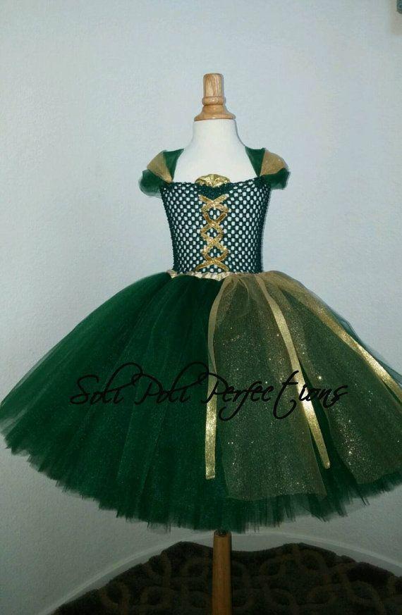 Merida inspiré Tutu robe Tutu courageux Merida Tutu Costume