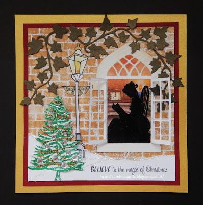 Sandma's Handmade Cards: The Night Before Christmas