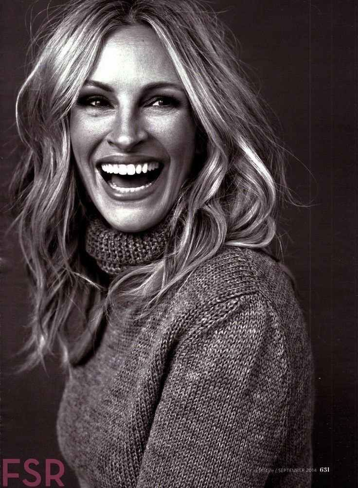 Julia Roberts for InStyle US September 2014, great photograph