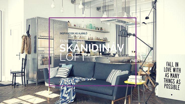 Ilyen fogalom, hogy skandináv loft, nem is tudom, hogy létezik-e hivatalosan…