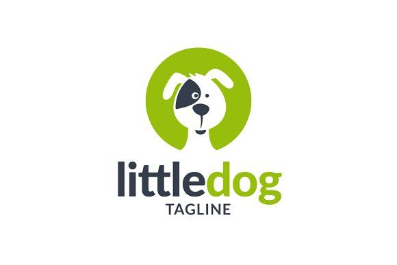 Little Dog Logo Dog Logo Design Dog Logo Little Dogs