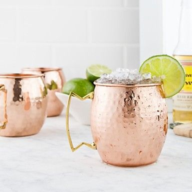 Moscow Mule Mugs with hammer finish - AUD $ 10.71