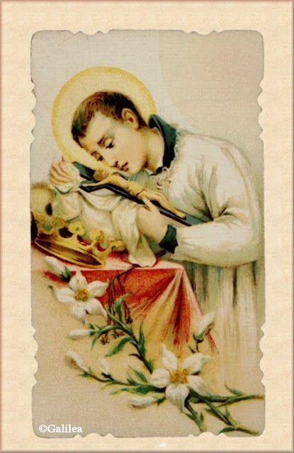 Santa María, Madre de Dios y Madre nuestra: San Luis Gonzaga († 1591) 21 de junio