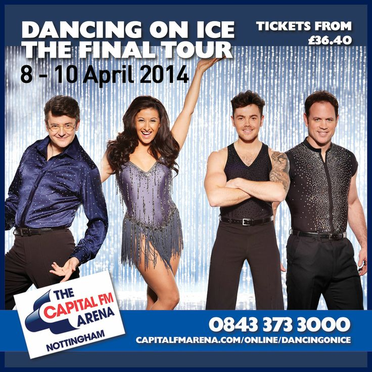 The first celeb contestants have been confirmed for the Dancing On Ice Live Tour! Call 0843 373 3000 for your tickets or click the pic to book online!